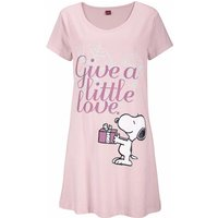 PEANUTS Damen Sleepshirt rosa Gr.56/58