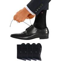 TOMMY HILFIGER Businesssocken Herren schwarz Gr.43-46