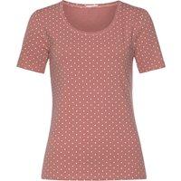 VIVANCE Damen T-Shirt rosé+taupe Gr.40/42