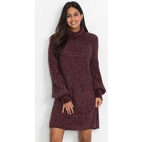Chenille Knit Dress