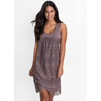 Lace Shell Charleston Dress