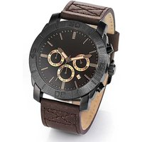 Mens Leather Wrist Watch