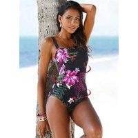Orchid Print Swimsuit at Bonprix