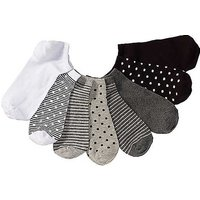 Pack of 8 Pairs Of Trainer Socks