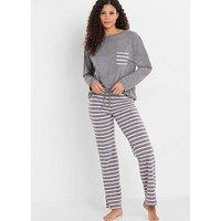 Striped Halterneck Swimsuit