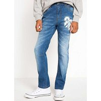 Used Look Stretch Jeans