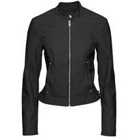 Zip-Up Pleather Jacket