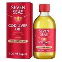 Seven Seas Extra High Strength Omega-3 Pure Cod Liver Oil - 300 ml