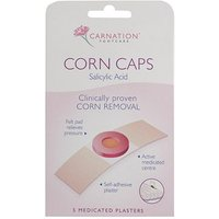 Carnation Corn Caps - 5 Medicated Plasters