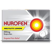 Nurofen Meltlets Lemon - 12 Tablets