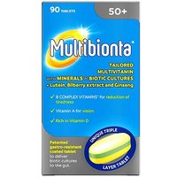 Multibionta 50  Tablets   90 Tablets