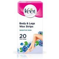Veet Ready To Use Sensitive Skin Wax Strips