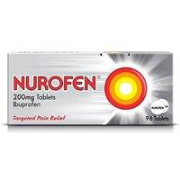 Nurofen 200mg Tablets - 96 tablets Ibuprofen