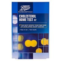 Boots Pharmaceuticals Cholesterol Home Test Kit
