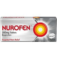Nurofen 200mg Tablets - 12 Tablets