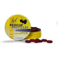 Bach Rescue Pastilles - Blackcurrant with sweeteners - 50g