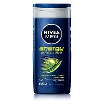 Nivea Men Energy Shower Gel   2 in 1 Body   Hair 250ml