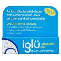 Igl Rapid Relief Gel Mouth Ulcer Treatment - 8g