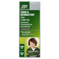 Boots Cough And Decongestant Syrup 6 Years - 100ml