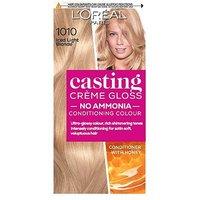 LOreal Paris Casting Creme Gloss Semi-Permanent Hair Dye, Blonde Hair Dye 1010 Light Iced Blonde