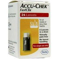 Accu-Chek Blood Glucose FastClix 24 Lancets