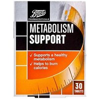 Boots Pharmaceuticals Metabolism Support  30 Tablets