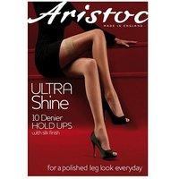 Aristoc Ultra Shine Hold Ups Black
