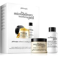 philosophy the microdelivery in-home vitamin c / peptide peel kit