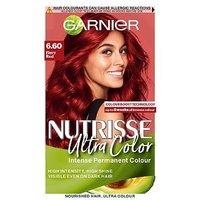 Garnier Nutrisse Ultra Color 6.60 Fiery Red Permanent Hair Dye