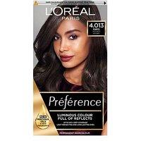 LOreal Preference Infinia 4.01 Paris Natural Dark Brown Hair Dye