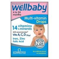 Vitabiotics Wellbaby Drops 30ml