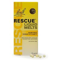 Bach Rescue Liquid Melts 28 Capsules 1.8g