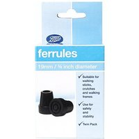 Boots Ferrules 19mm Twin Pack