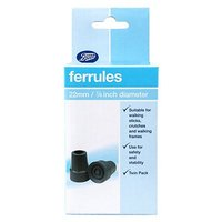 Boots Ferrules 22mm Twin Pack