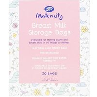 Boots Maternity Breast Milk Storage Bags - 30 Bags
