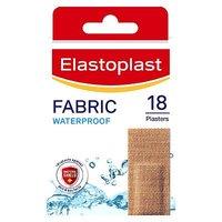 Image of Elastoplast Waterproof Fabric Plasters - 18 Strips