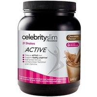 Celebrity Slim Active Shake Chocolate with sweetener - 21 x 40g