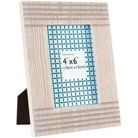 Anker Lined Wooden Photo Frame - 6 x 4