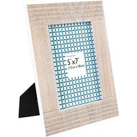 Anker Lined Wooden Photo Frame - 7 x 5