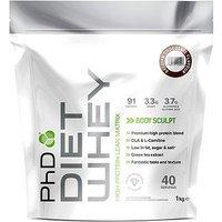PhD Diet Whey Protein Belgian Chocolate with sweetener - 1kg