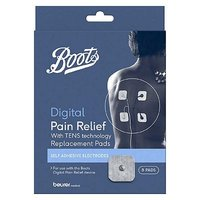 Boots TENS Digital Pain Relief Unit Replacement Pads - 8 Pads
