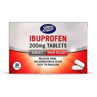 Boots Ibuprofen 200mg - 24 Caplets