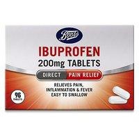 Boots Ibuprofen 200mg - 96 Caplets
