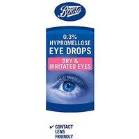 Boots Hypromellose 0.3% Eye Drops - 10ml