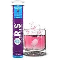 O R S  Oral  Salts Blackcurrant Flavour   24 Tablets