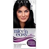 Image of Nice'n Easy No-Ammonia Shade 83 Black up to 24 Shampoos