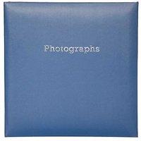 Boots Navy Blue Slip-In Photo Album 6x4- 140 Photos