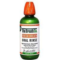 The Breath Co  Fresh Breath Oral Rinse Mild Mint 500ml