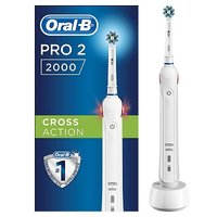 'Oral-b Pro 2000 Rechargeable Electric Toothbrush - Powered By Braun