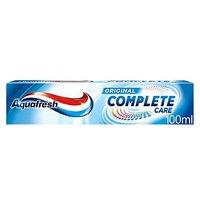 Aquafresh Complete Care toothpaste 100ml
